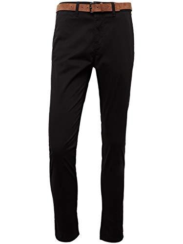 Tom Tailor Denim (NOS) Herren Hose Basic Slim Chino, Schwarz (Black 29999) W31/L32