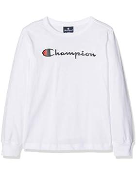 Champion Long Sleeve T-Shirt, Camiseta de Manga Larga para Niños