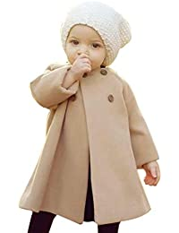 ZARLLE_Bebé Abrigos Bebé,ZARLLE Ropa de bebé Chaqueta para niños Bebés niñas otoño Invierno Tipo de Capa Abrigo Chaqueta Gruesa Ropa Caliente 0-4 Años