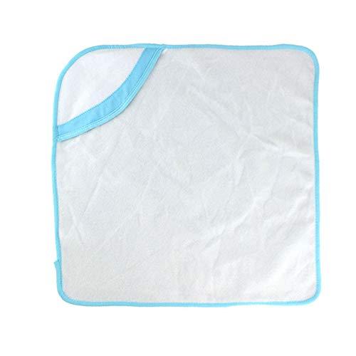 MCYs 18-Zoll-Babybadtuch Decke der Vereinigten Staaten (mit Ausnahme von Puppen) blau, Badetuch-Decke für 18-Zoll-for American Puppe Zubehör Mädchen Spielzeug