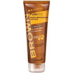 Tannymaxx Exotic Funatic Dark Bronzing Lotion, 125ml