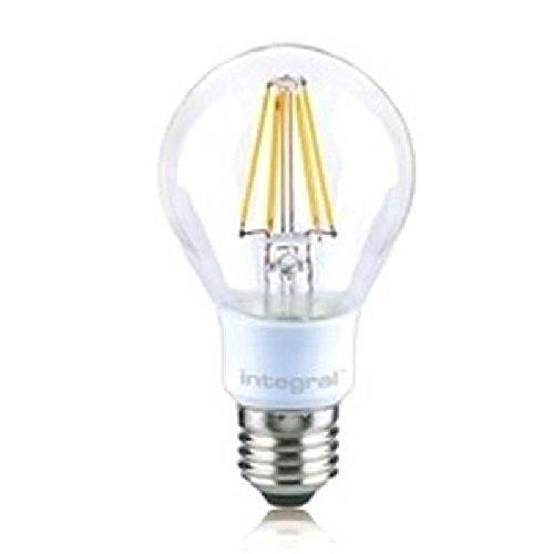 Integral LED ILGLSE27DC034 4.5W E27 A++ - Lámpara LED (A++, 24 MA,...