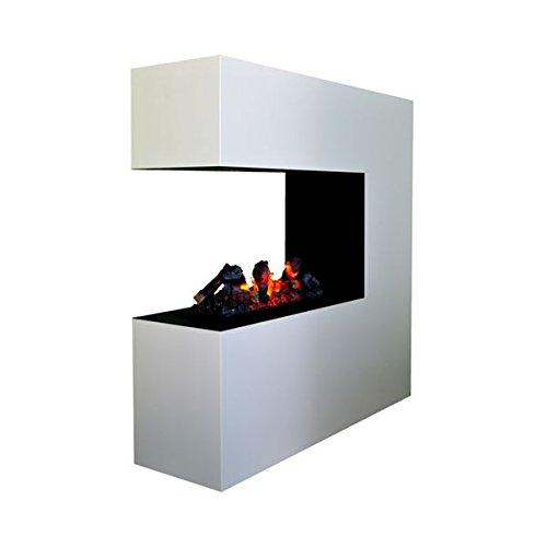 Elektrokamin Glow Fire Opti Myst Schiller, Wasserdampf Feuer, elektrischer Standkamin mit...