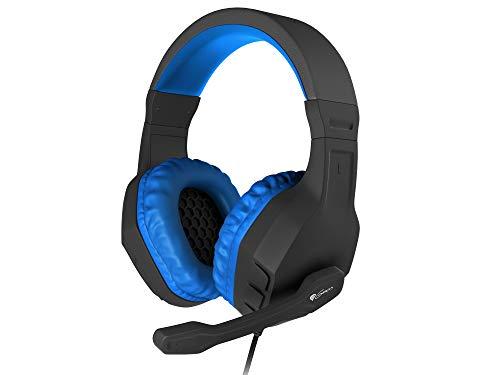 Genesis Kopfhörer C/Mikrofon Argon 200Gaming Mini Jack 3.5Blau Bluetooth-kopfhörer Jack