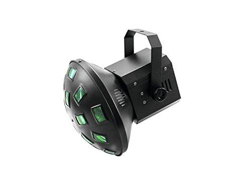 Eurolite LED Z-20 Strahleneffekt | Kompakter Strahleneffekt mit Lichtstrahlen in 6 Farben (RGBAW+UV | Effektlicht für den Partyraum, Club, Bar, Disco | Lichteffekt mit modernster Technologie
