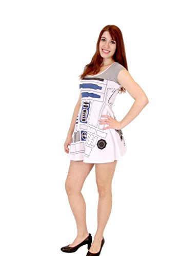 Star Wars I Am R2D2 Costume Skater Dress