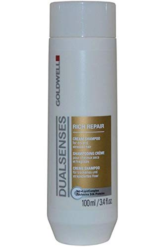 DualSenses by Goldwell Cream Shampoo Rich Repair 100ml for Dry and Stressed Hair -