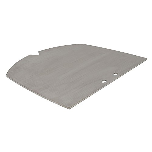 BBQ-Toro Edelstahl Grillplatte passend für Weber Q300 - Serie Elektrogrill und Gasgrill | passt exakt zu Q3000 - Q3200 - Q3400
