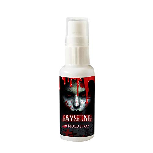 30 ml / 1 fl.oz realistische Kunstblut Make-up Spray beängstigend Gesicht und Körper malen Halloween Dress Up Cosplay Zubehör (Mary Halloween Bloody Kostüm)