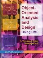 Object Oriented Analysis and Design Using UML (PB) [Paperback] Reddy, K Venugopal & S Korra par K Venugopal & S Korra Reddy