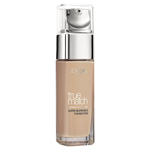 L'Oreal Paris True Match Foundation - 30 ml, Beige (Number N4)