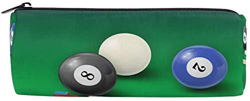Bleistiftbeutel sport billard ball, federmäppchen stift reißverschlusstasche beutelhalter make-up pinsel tasche für die schule arbeit büro