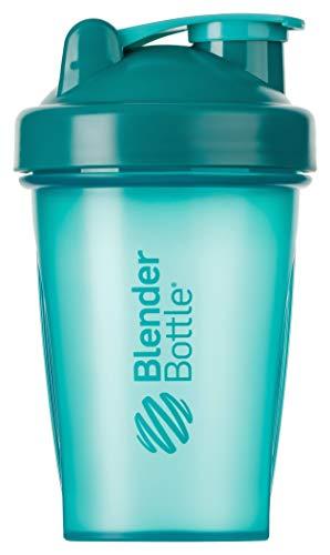 BlenderBottle Classic Shaker | Eiweiß Shaker | Diät Shaker | Protein Shaker mit Blenderball 590ml - Teal (20 Oz-kunststoff-klar-cups)
