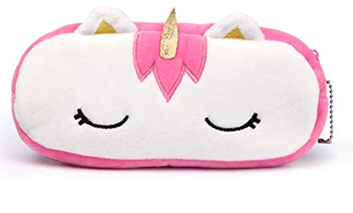 24x7 eMall Pink Unicorn Pencil Pouch Soft Toys for Children, Kids Favorite Pencil Box (Pink Unicorn)