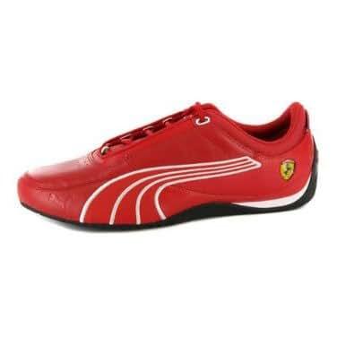Chaussures Homme Puma Drift Cat 4 Ferrari en Cuir Rouge EUR 45