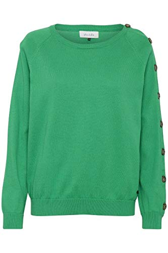 (Blend Amelia L Button Pullover Größe S Bright Green)