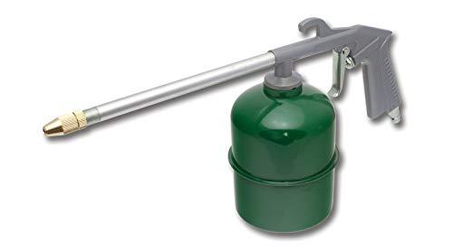 STALCO SPRÜHPISTOLE MIT SAUGBECHER Spritzpistole Ölsprüher Öl Pistole Kompressor
