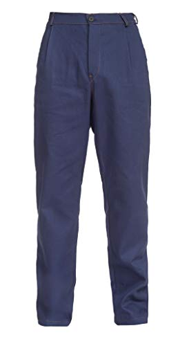 DINOZAVR Anax Pantaloni da Lavoro in Cotone - Uomo - Blu Navy - L