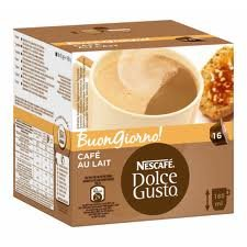 Nescafe Dolce Gusto Cafe' Au Lait (Pack of 2), 2x16 Pods