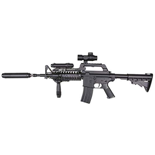 Well Airsoft Spring Rifle M4 S-System con Accessori 0.5 Joule