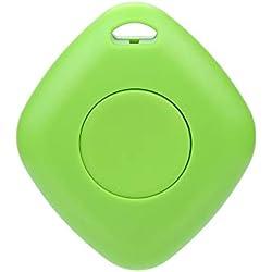 TianranRT Bluetooth4.0 - Dispositivo elettronico Anti-smarrimento, con Telecomando Verde
