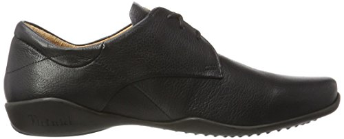 Think! Stone, Derby homme Noir (00)