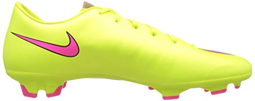 Nike Mercurial Victory V Fg, Chaussures de Football Homme Vert (volt/hyper Pink-black 760)