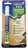 Grout Pen White - Ideal to Restore the Look of Tile Grout Lines by Rainbow Chalk Markers Ltd