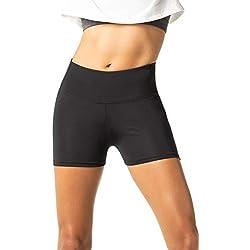 LAPASA Pantalón Corto Deportivo para Mujer (Running, Fitness, Estiramiento) L09
