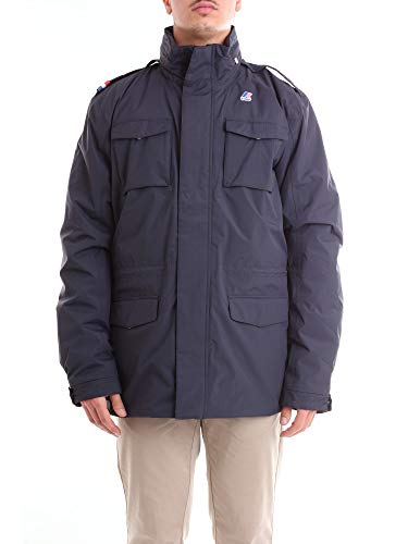 Giacca - Manfield Ripstop Marmotta - Depht Blue-Antracite - XL