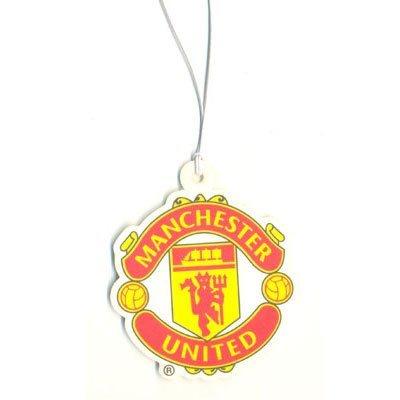 Lufterfrischer, mit Manchester United Vereinswappen, offizielles Lizenzprodukt -