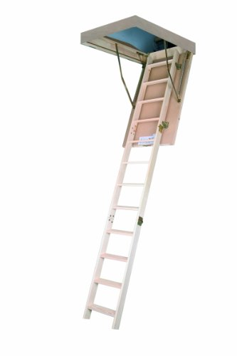 Bodentreppe Dachbodentreppe Stiege Fakro LWS 55x111cm Smart Holztreppe