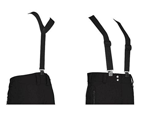 Killtec Wing Hosenträger für Skihosen, schwarz, 1 (Hose Hosenträger Aus)