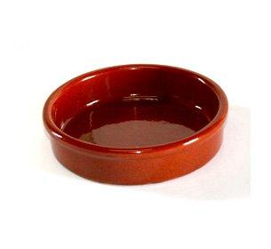 Terrissaires - Tonschale Cazuela, Flach, Keramik 10 cm Durchmesser