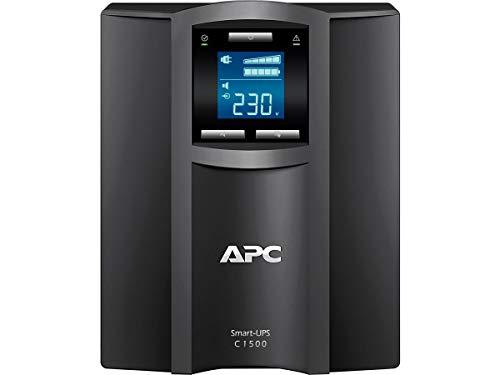 APC Smart-UPS SMC - SMC1500I - Unterbrechungsfreie Stromversorgung 1.500VA (Line Interactive, AVR, 8 Ausgänge IEC-C13, Shutdown Software)