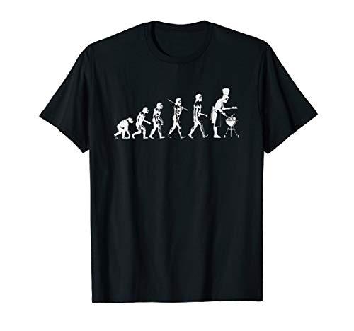 Evolution Des Grillens Smoker BBQ Grill Spaß Ironie Geschenk T-Shirt