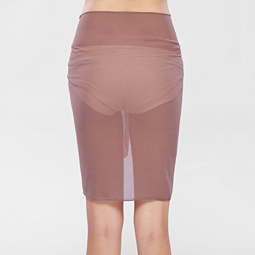 iBaste 2017 neue Damen Sexy modern Einfarbig Strandrock Strandkleider bikinihosen Cover Up Khaki