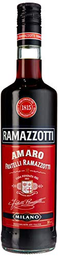 Ramazzotti Amaro - Der italienische Digestif mit 33 verschiedenen Kräutern - Absacker mit perfekter bittersüßen Note - 1 x 0,7 L