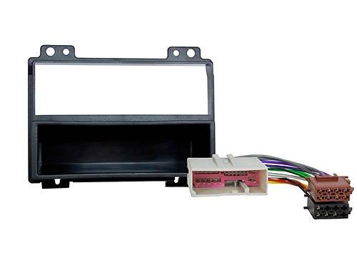 CARAV 11-049-9-6 DIN Kit de Montage autoradio fa/çade dautoradio avec Adaptateur ISO et Adaptateur dantenne dans Dash Car Audio Installation Kit for Head Units Fiesta 2001-2005; Fusion 2002-2005