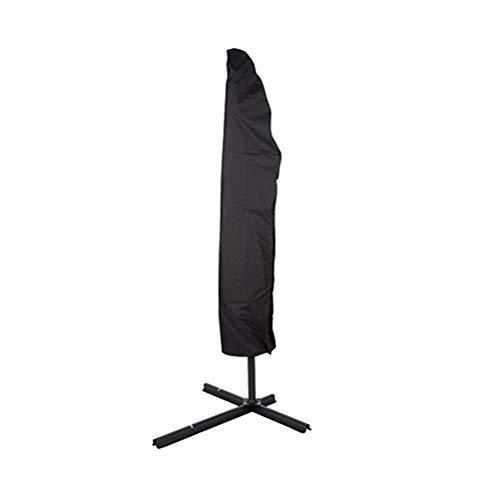 VHFIStj Schutzhülle für Ampelschirme Sonnenschirmhülle Wasserdicht Abdeckhauben für Sonnenschirm Abdeckung mit Reißverschluss und Zugkordel -
