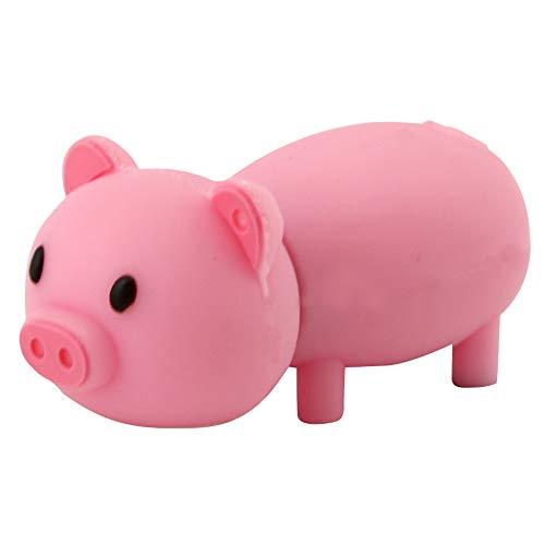 Easyplay - chiavetta usb 2.0 da 32 gb, a forma di maialino rosa mocassini eleganti da donna