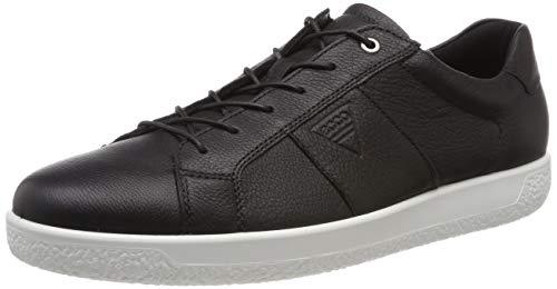 ECCO Herren Soft 1 Men's Sneaker, Schwarz (Black 1001), 43 EU