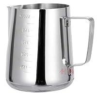 كوب رغوة حليب القهوة، ابريق تحضير القهوة بالبخار 450 مل