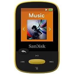 Lecteur MP3 SanDisk Clip Sport 8Go Jaune (SDMX24-008G-G46Y)