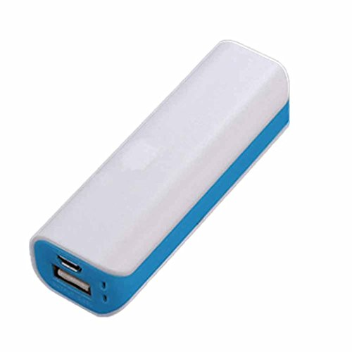 squarex Tragbare USB-Travel Externe Backup Akku Ladegerät Power Case Cover, himmelblau, AS SHOW (Solar-power-gps)