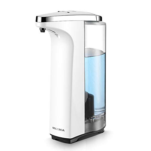 JASONN Automatic Soap Dispenser in Foam, Contactless Hand Wash with Sensor dispenser, Foam soap, detergent, Hand Sanitizer and lotion, for bathroom / Kitchen / Office