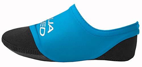 Aqua Speed® NEO Socks für Kinder | 20-29 | Neoprensocken | Kinder | Rutschfeste Sohle | Elastisch | Leicht (Farbe 01 / Blau, 32/33)