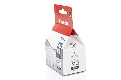 Preisvergleich Produktbild Original Tinte passend für Canon Pixma MP 230 Series Canon PG512 , PG-512 2969B001 , 2969B001AA , PG512BK - Premium Drucker-Patrone - Schwarz - 401 Seiten - 15 ml