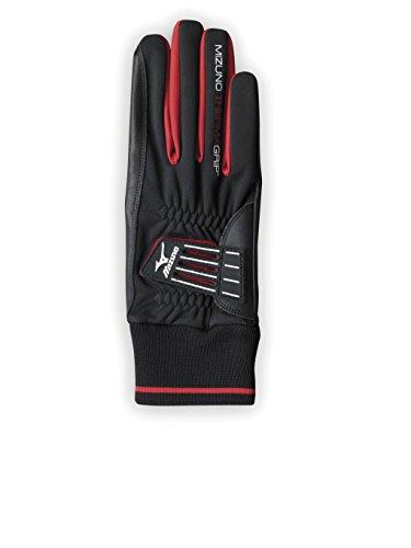 Mizuno Herren Therma Grip Handschuhe Mehrfarbig schwarz / weiß M/L