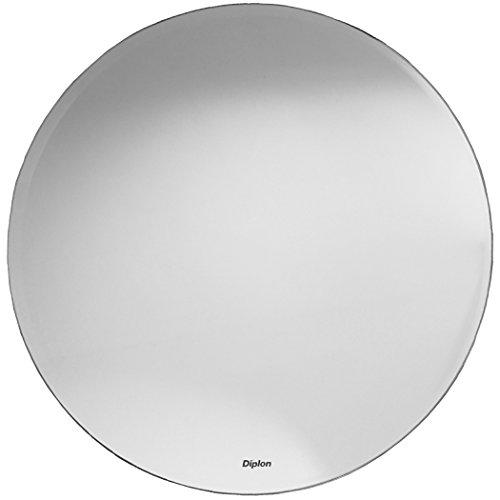 Badspiegel mit Facettenschliff rund / Flur Spiegel ca.60 cm / Bad / WC